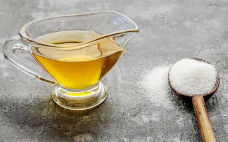 exfoliante de azucar y miel