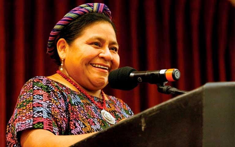 Rigoberta Menchú biografía corta