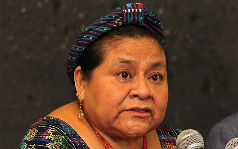 Frases de Rigoberta Menchú sobre la paz